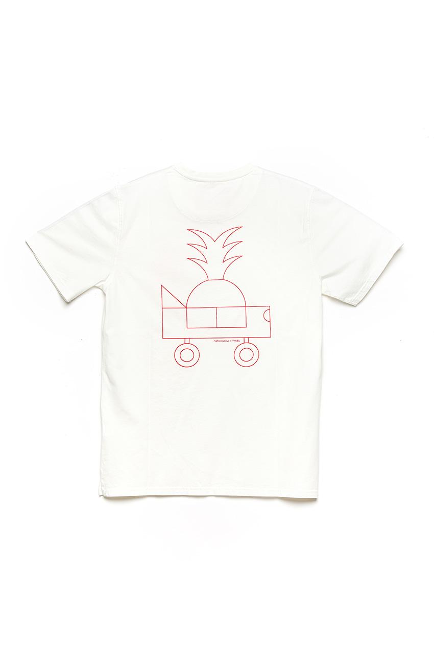 Camiseta Oggi Car Oggian Off White 02