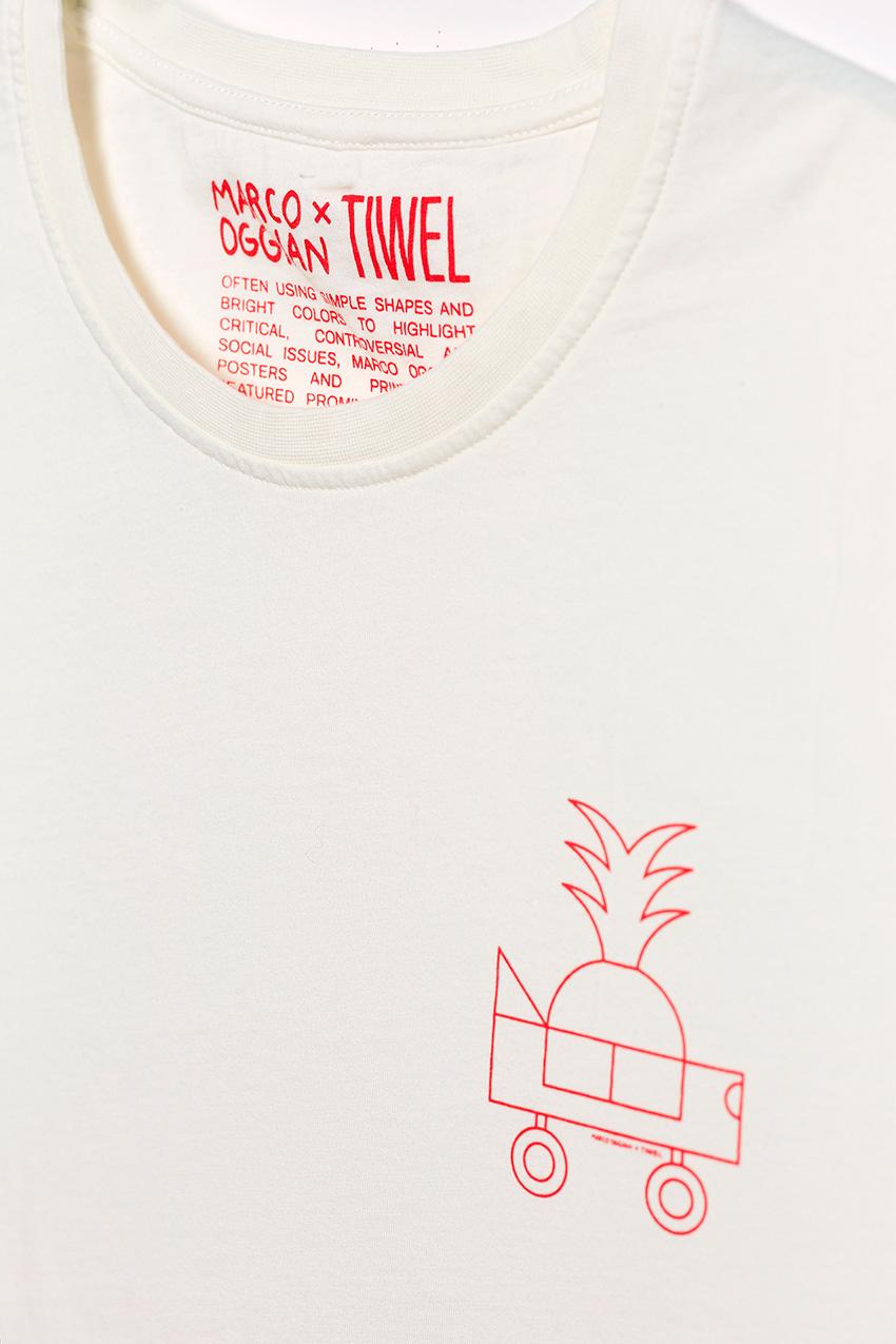 Camiseta Oggi Car Oggian Off White 03