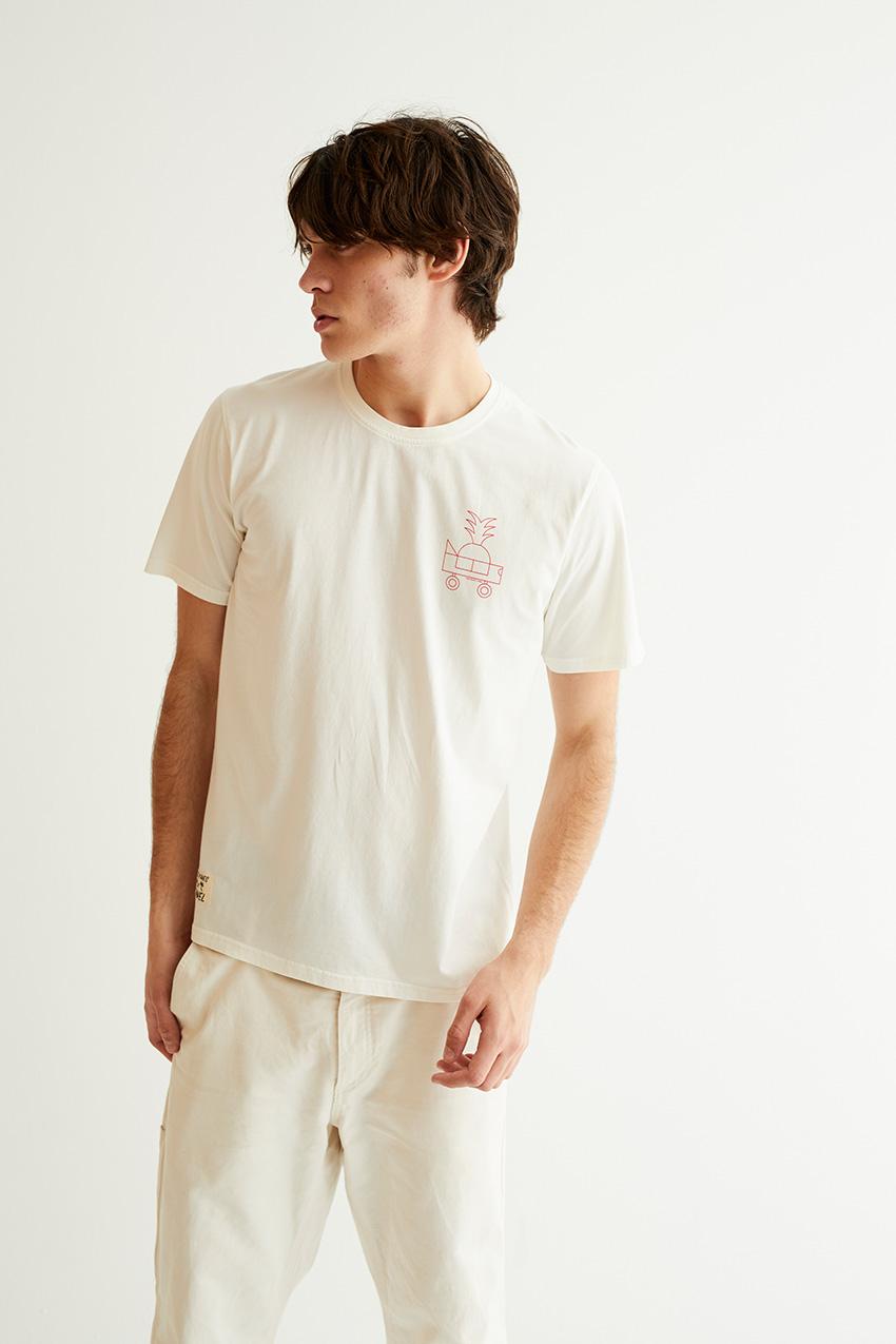 Oggi Car Tshirt Oggian Off White 04