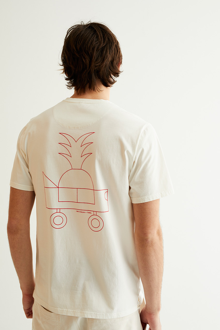Oggi Car Tshirt Oggian Off White 05