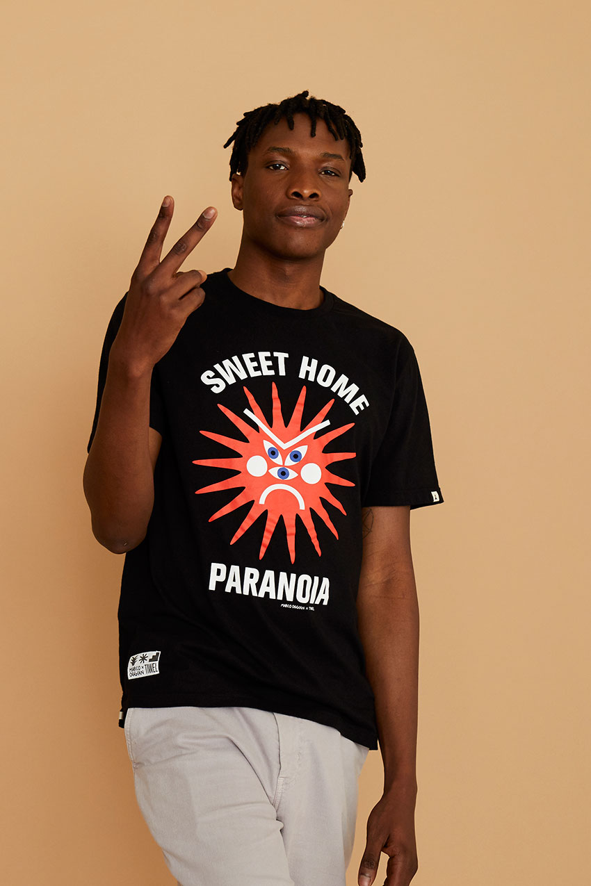 Tshirt Paranoia Oggian Black 02
