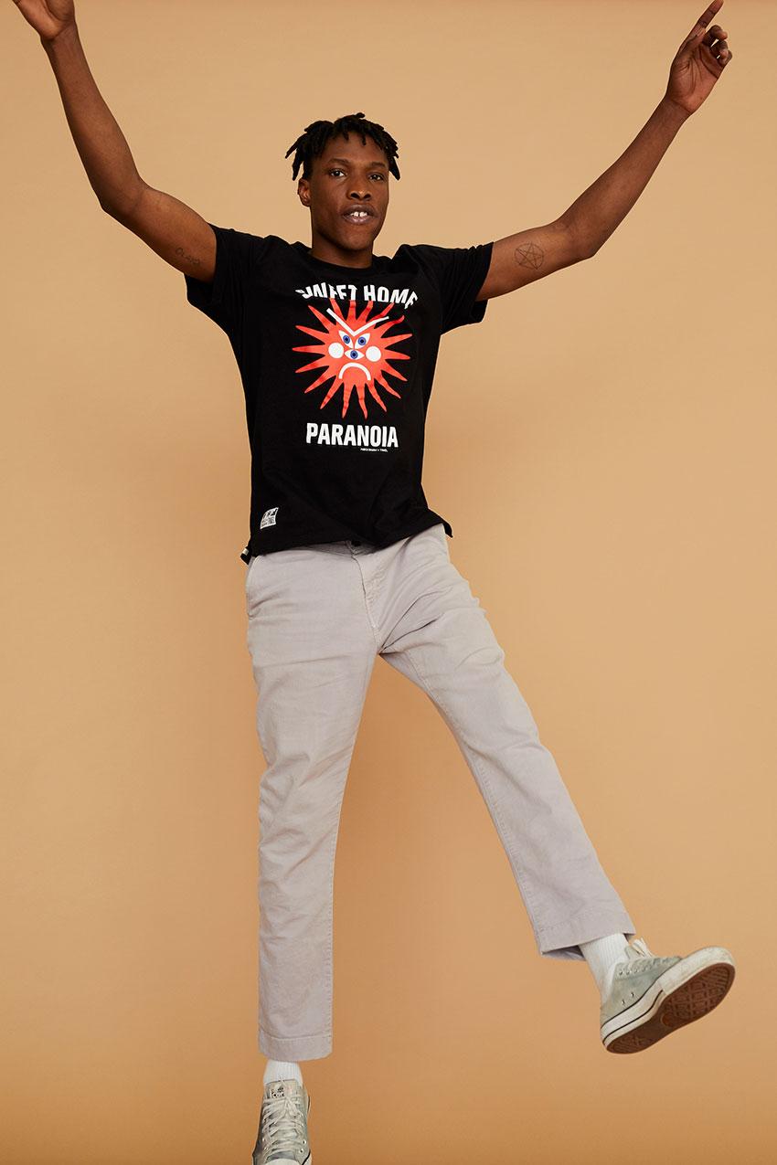 Tshirt Paranoia Oggian Black 04