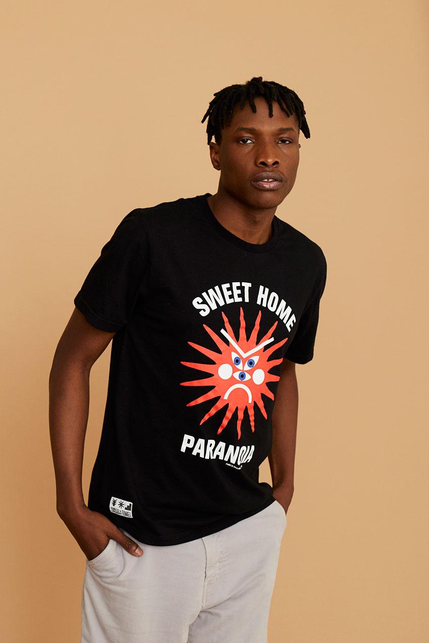 Tshirt Paranoia Oggian Black 05