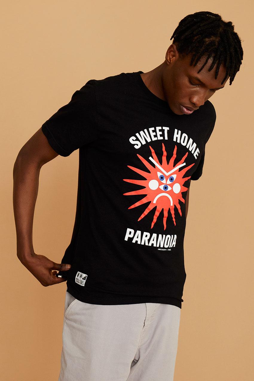 Tshirt Paranoia Oggian Black 06