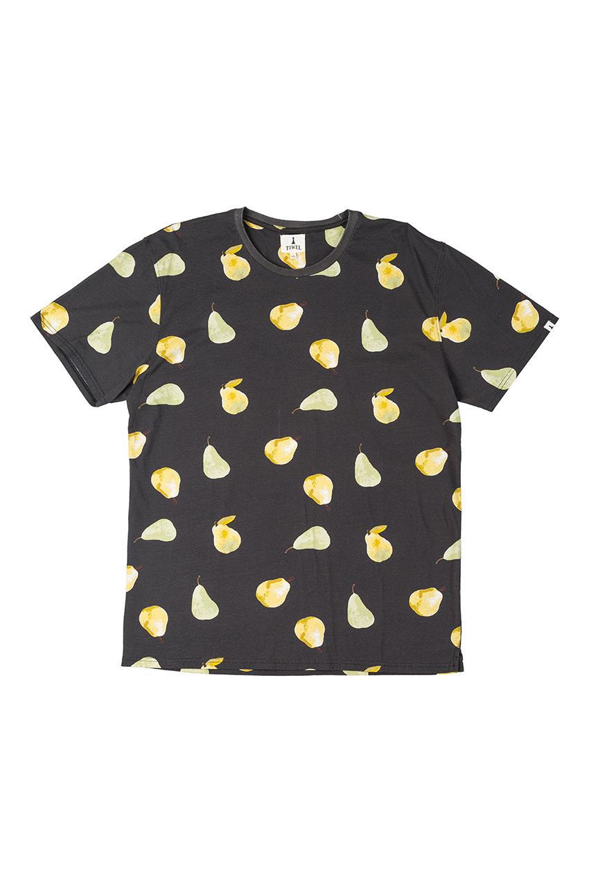 Camiseta Pear Tiwel pirate black 01
