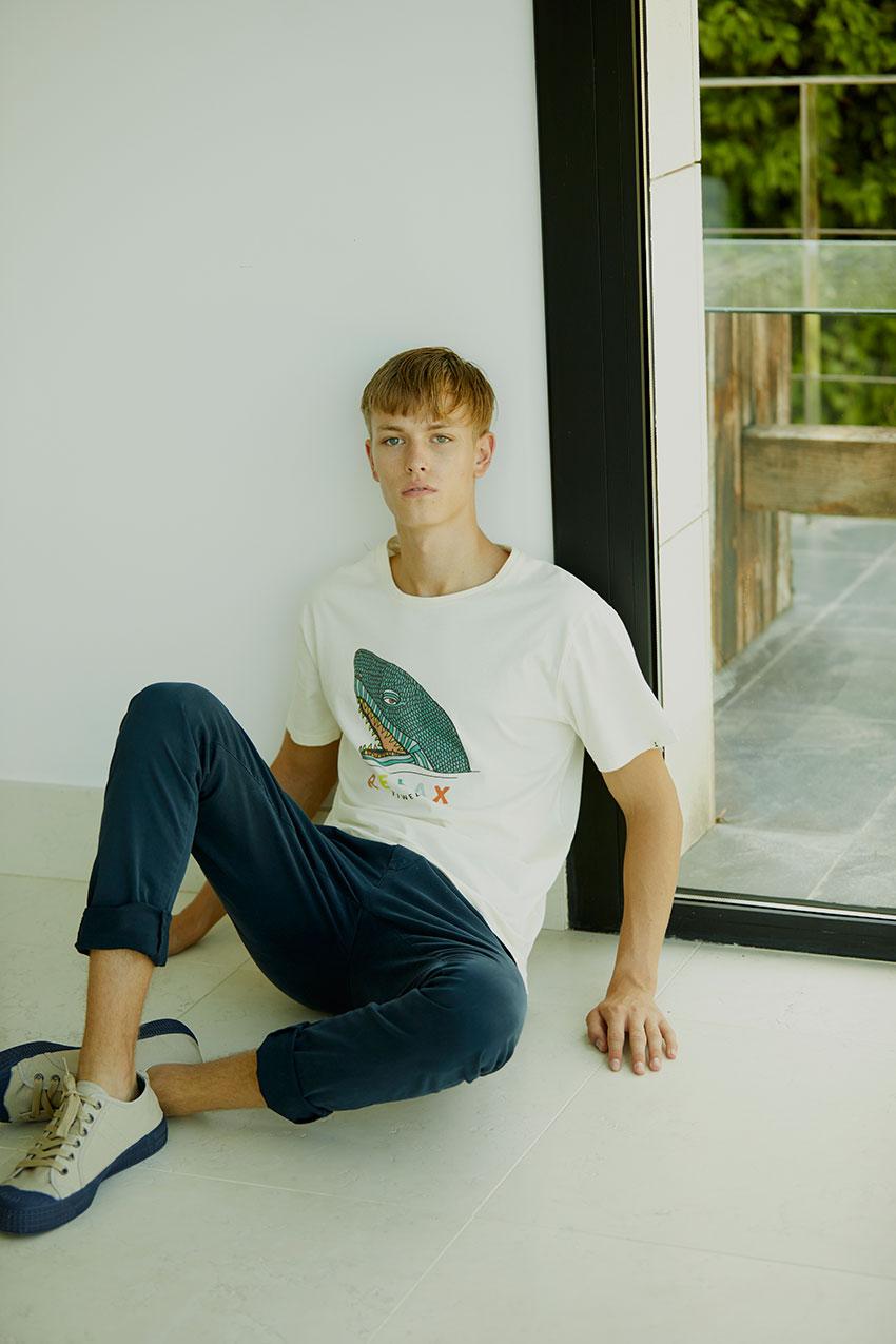 Camiseta Relaxco Tiwel off white 04