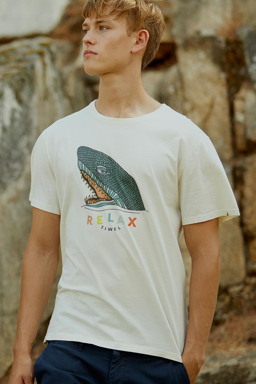 Camiseta Relaxco Tiwel off white 06