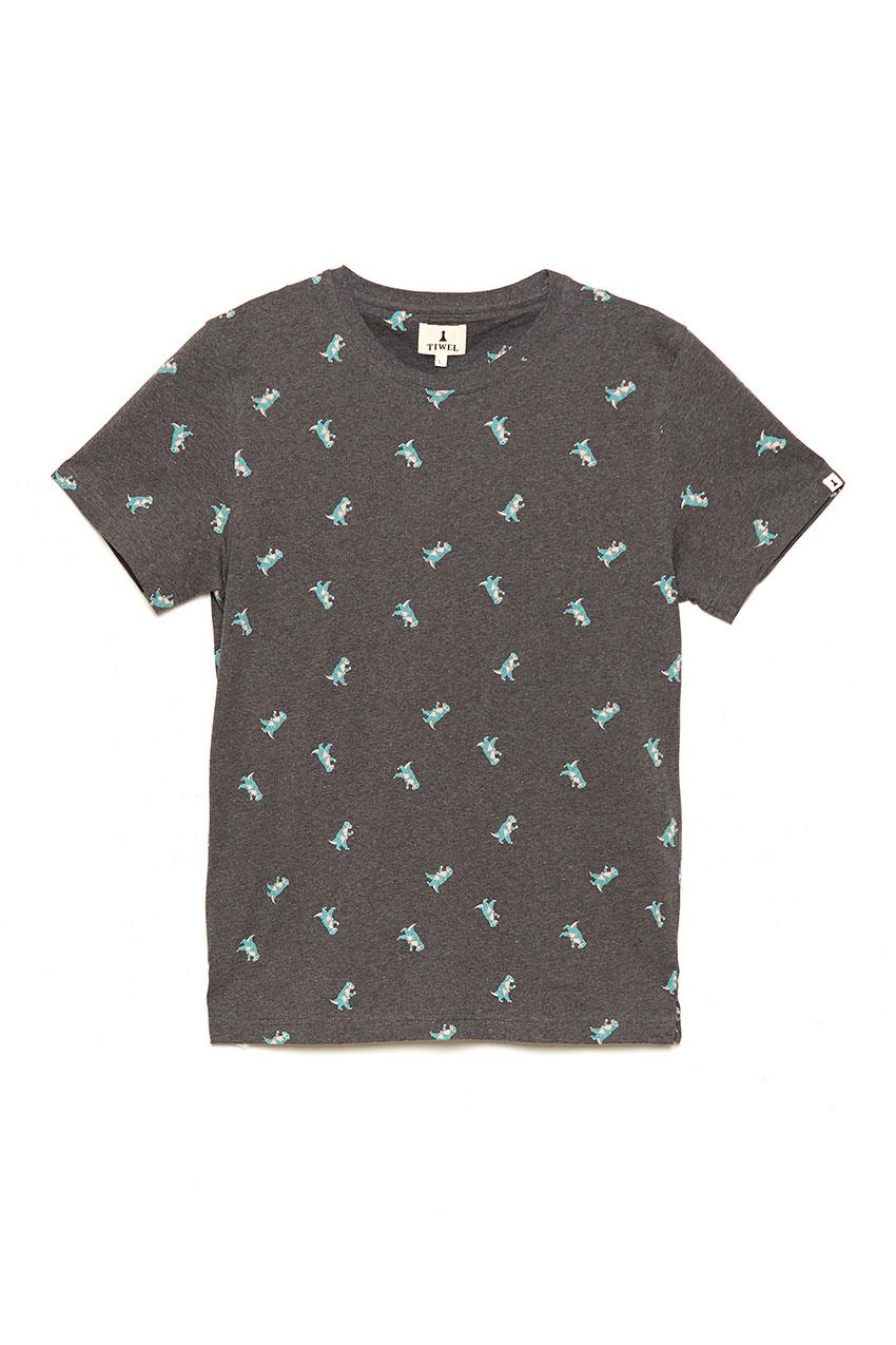 Camiseta Roro Pirate Black Melange 01