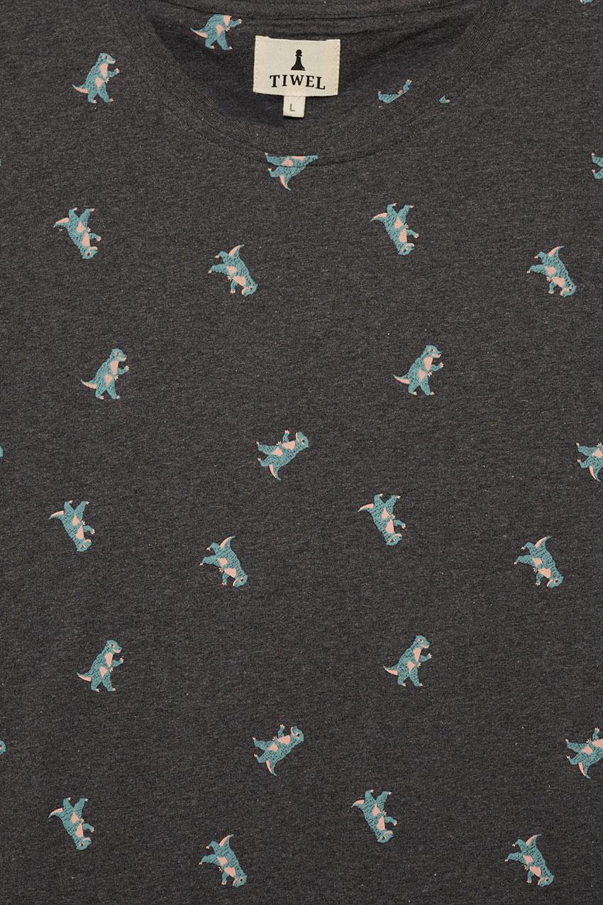 Camiseta Roro Pirate Black Melange 02