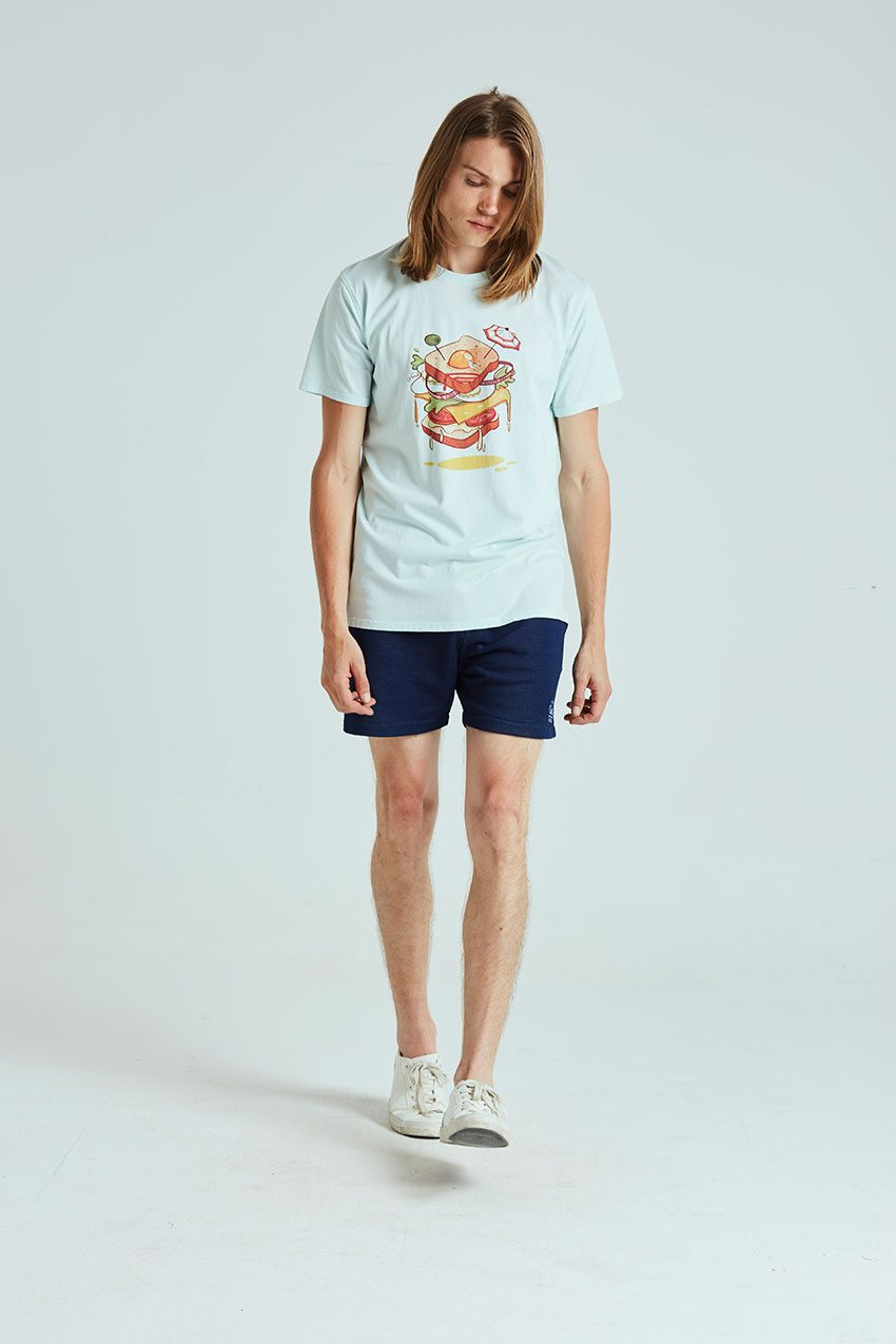 Camiseta Sandwich Tiwel wan blue 01