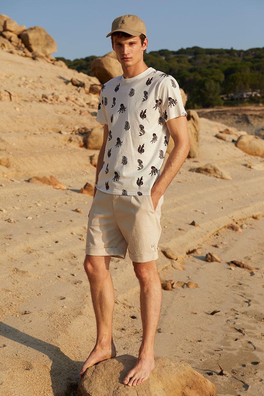 Camiseta Sea Tiwel off white 05