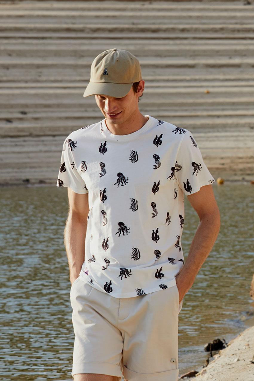 Camiseta Sea Tiwel off white 06