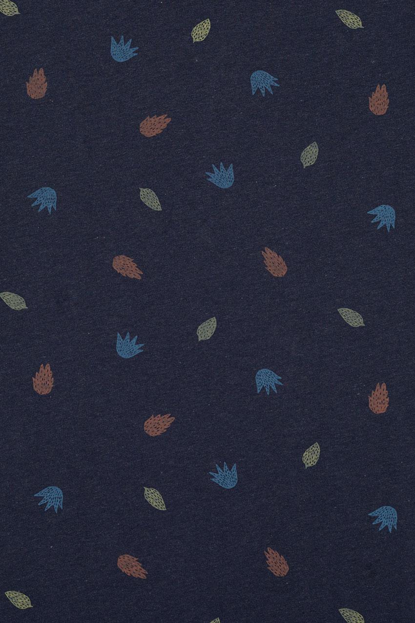 Camiseta Shore Brigade Blue Melange 02