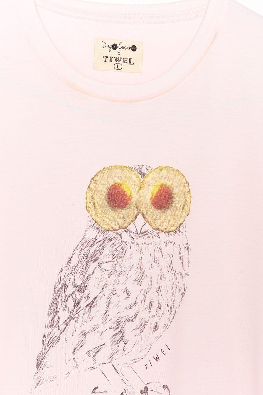 Camiseta Slowegg Tiwel petal pink 03