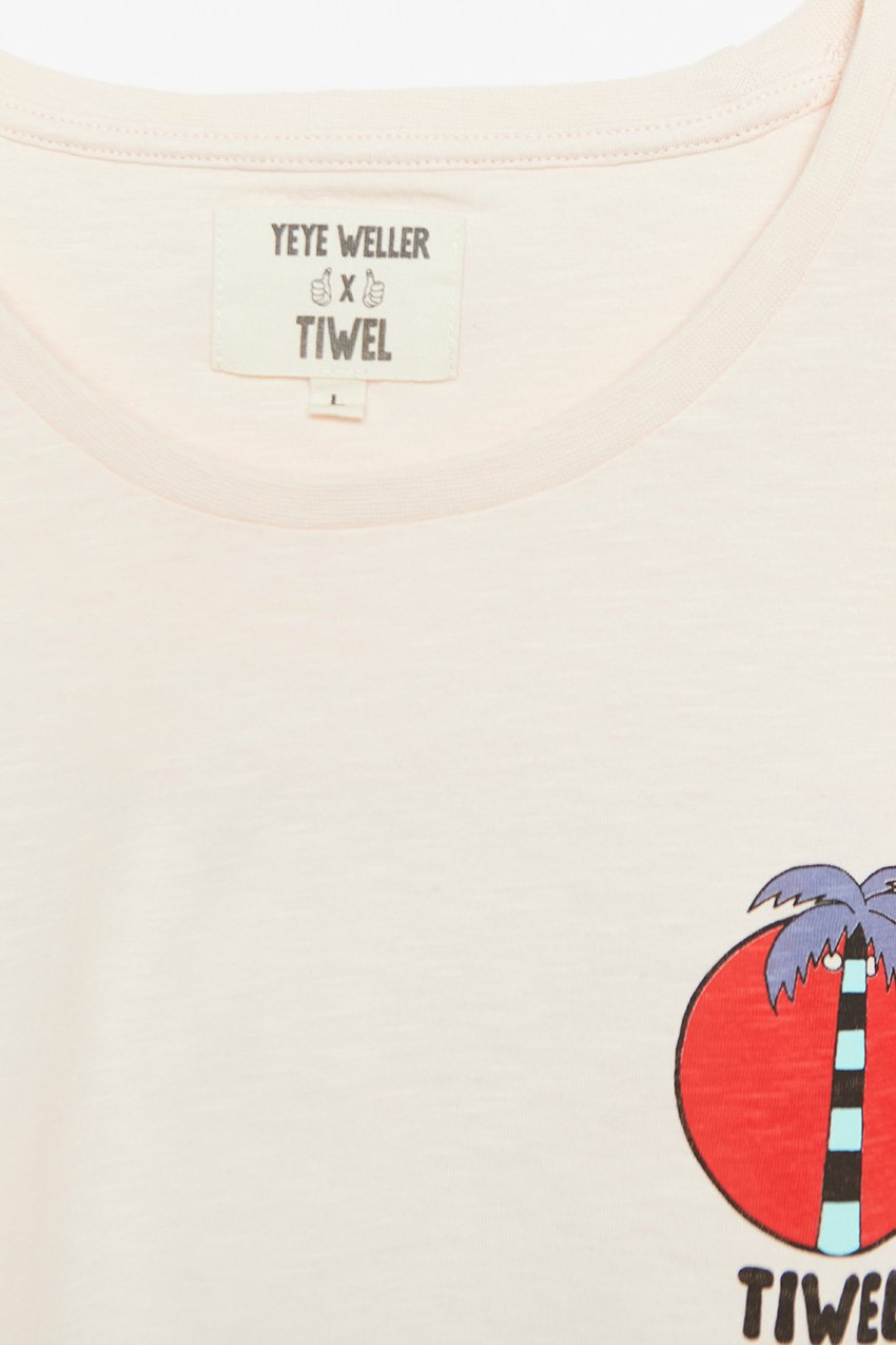 Camiseta Summer Time Tiwel Yeye Weller rosewater 02