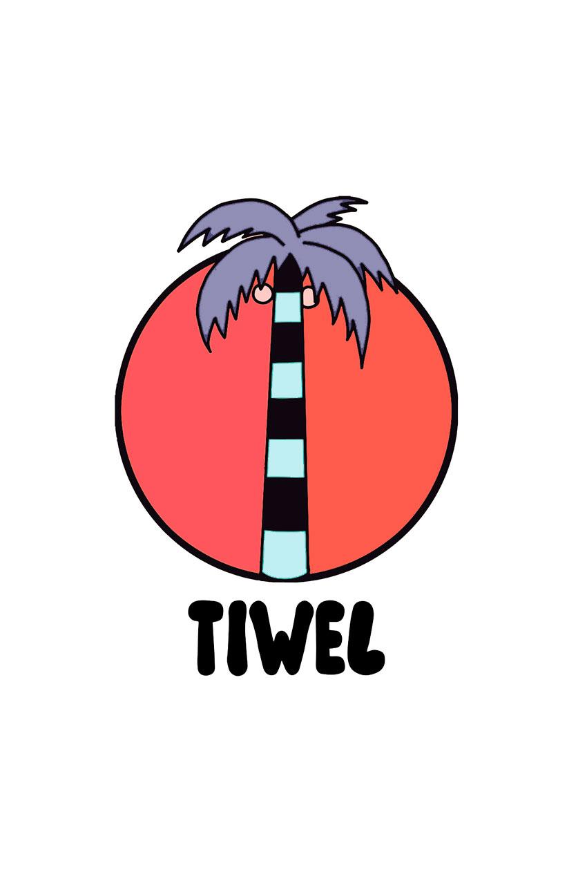 Camiseta Summer Time Tiwel Yeye Weller rosewater 05