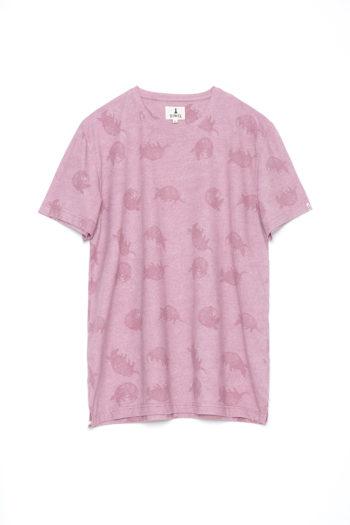 Camiseta-Tatu-Frozen-Pink-Melange