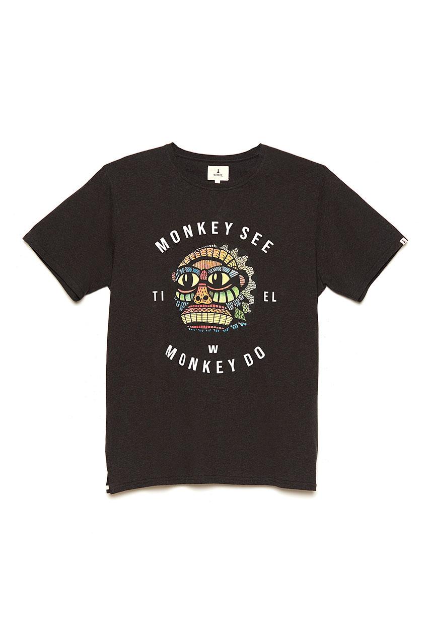 Camiseta Tokio Mid Grey Melange 01