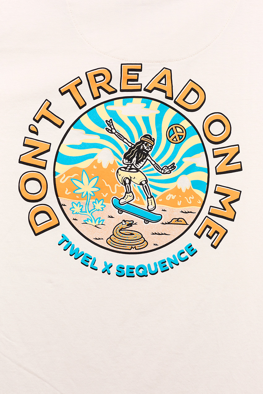 Tread On Tshirt Sequence 05