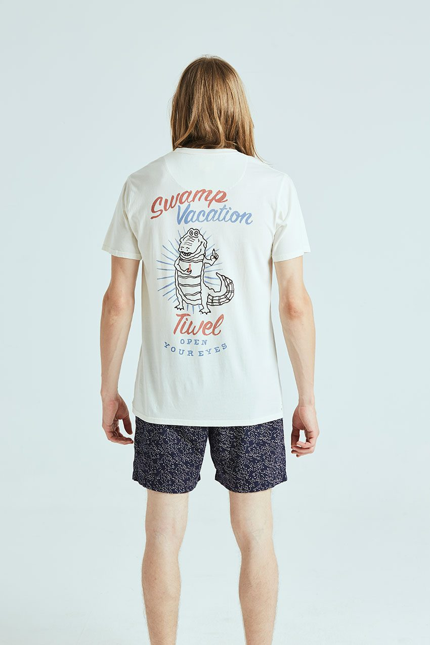 Camiseta Vacation Tiwel off white 02