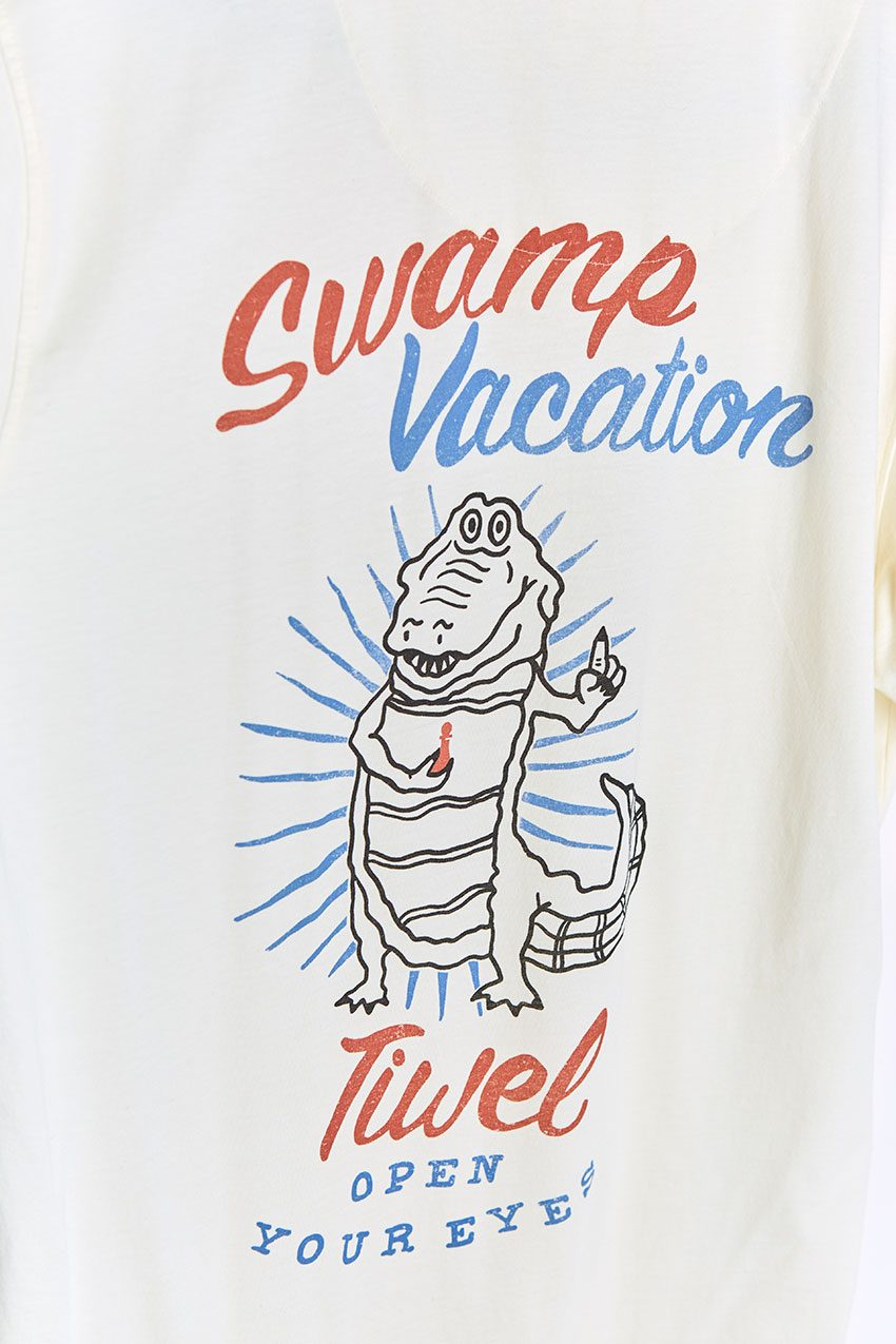 Camiseta Vacation Tiwel off white 04