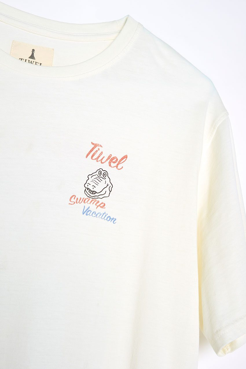 Camiseta Vacation Tiwel off white 05