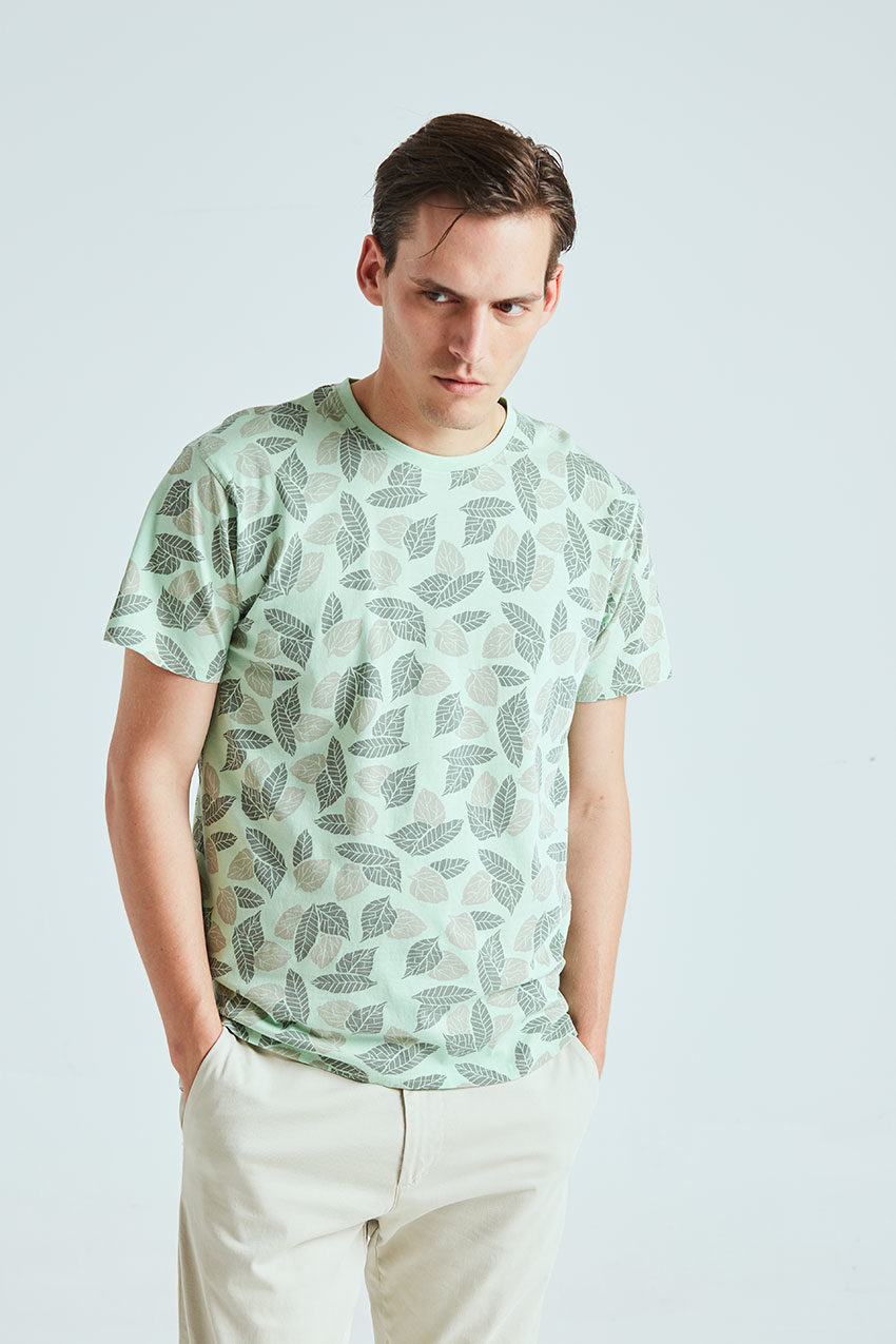 Camiseta Wind Tiwel pastel green 02