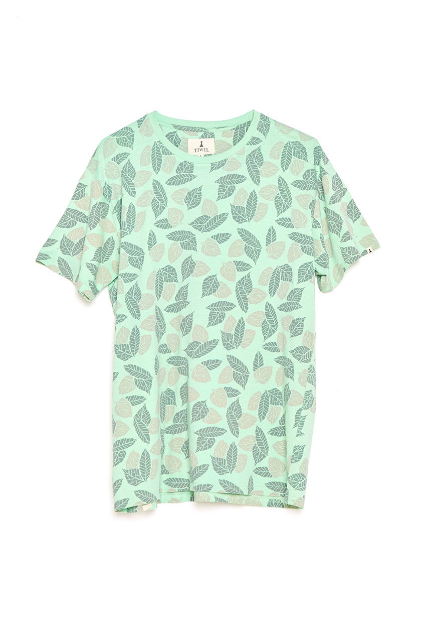 Camiseta Wind Tiwel pastel green