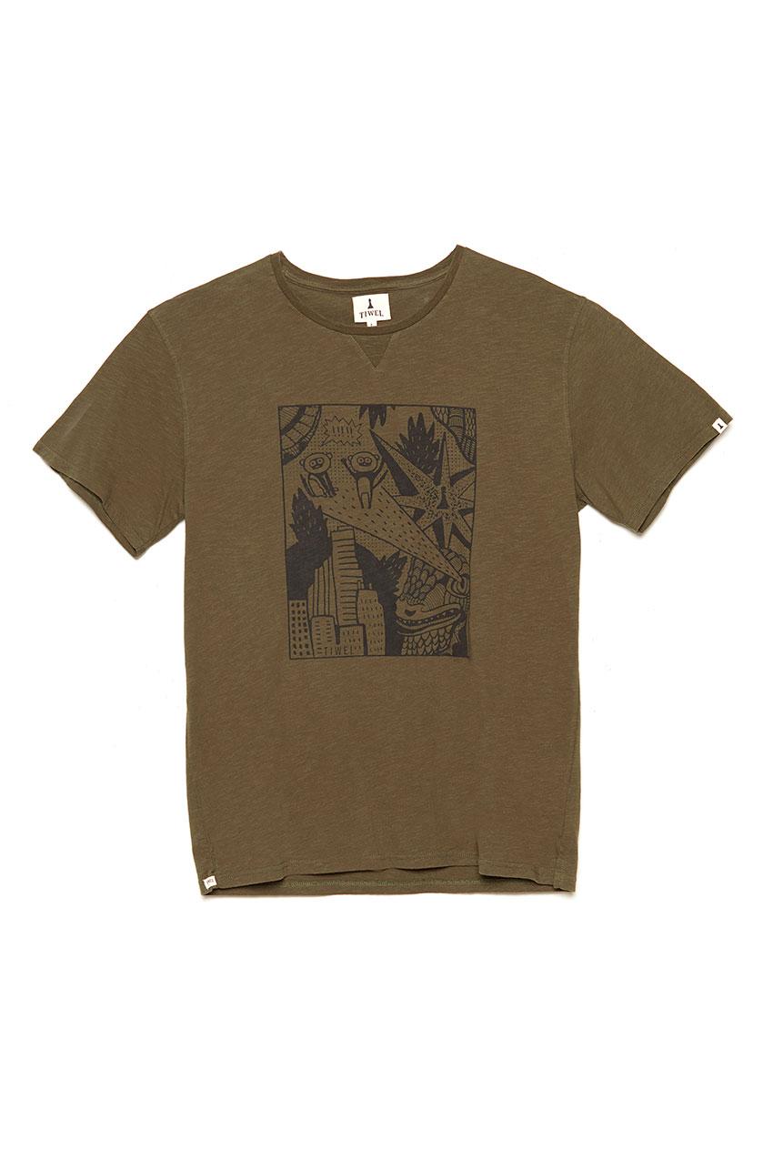 Camiseta Zilla Ivy Green 01