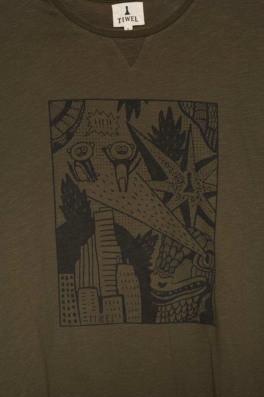 Camiseta Zilla Ivy Green 02
