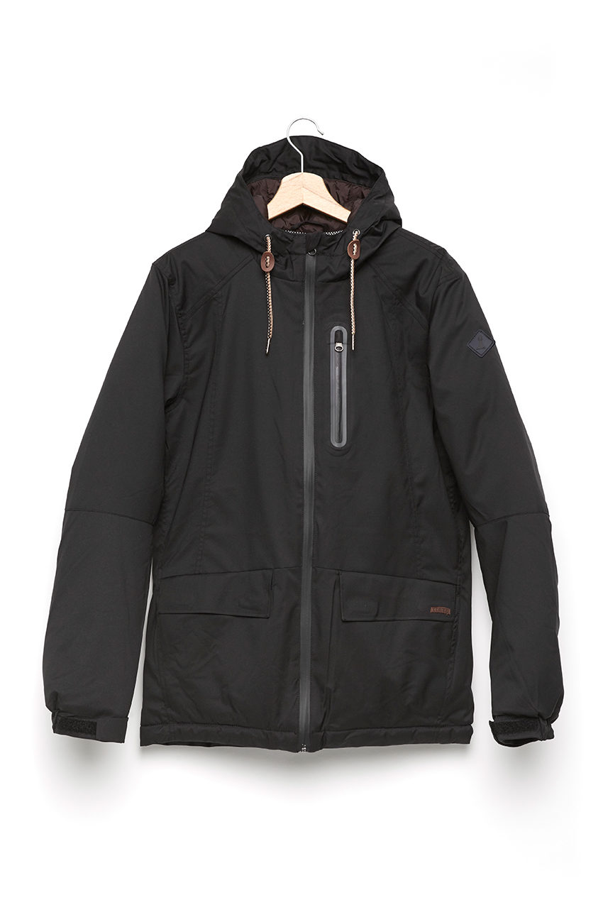 Chaqueta Kamon Faded Black
