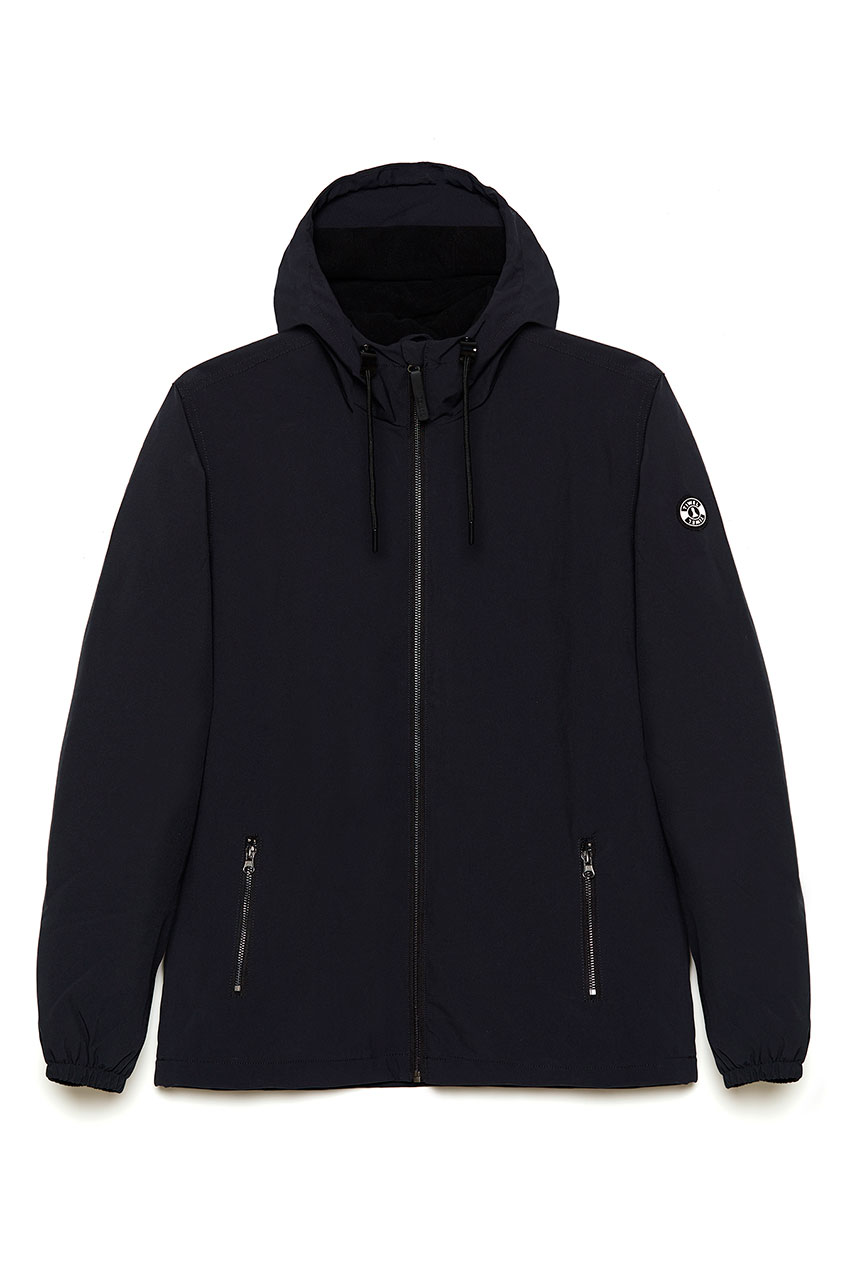 Chaqueta Sakoro Fleece Faded Black 01