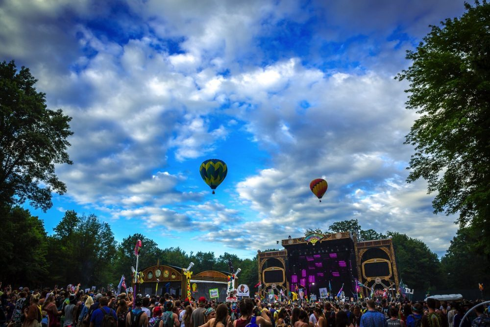 Electric forest entradas