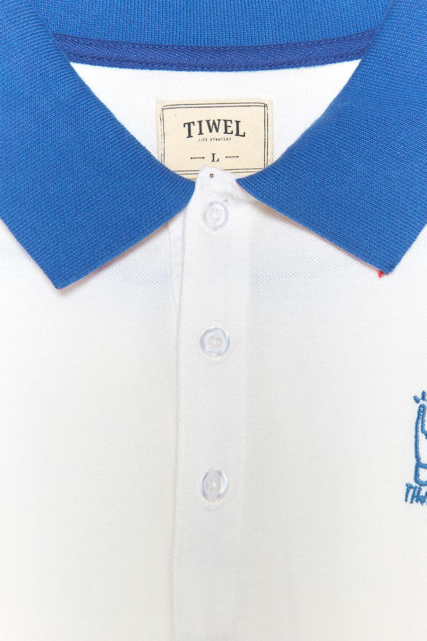 Polo Block Tiwel snow white 04