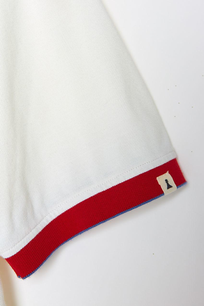 Polo Block Tiwel snow white 05