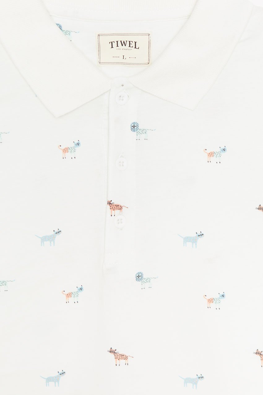 Polo Bunch Tiwel off white 01