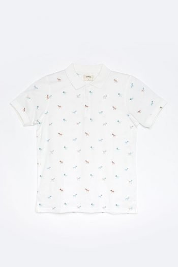 Polo Bunch Tiwel off white