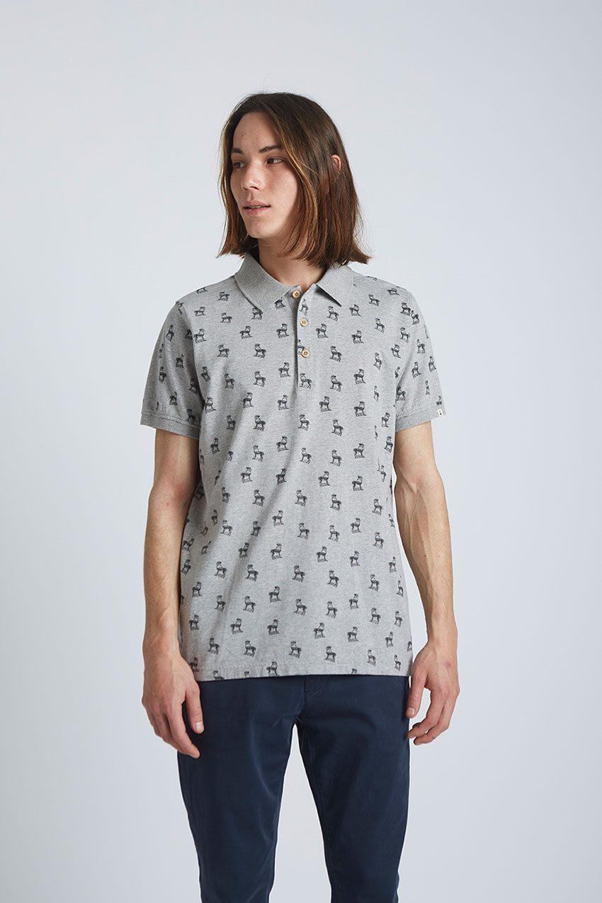 Gazelle-Poloshirt-Tiwel-Light-Grey-Melange-02