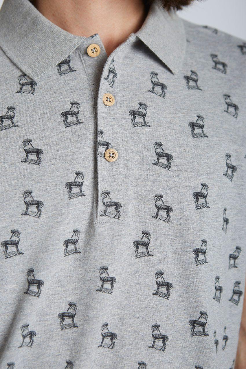 Gazelle-Poloshirt-Tiwel-Light-Grey-Melange-03