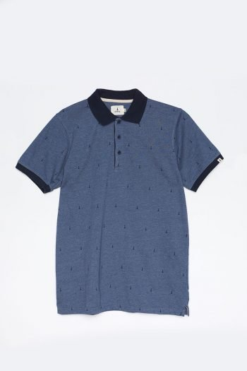 Polo Hube Tiwel dark blue melange