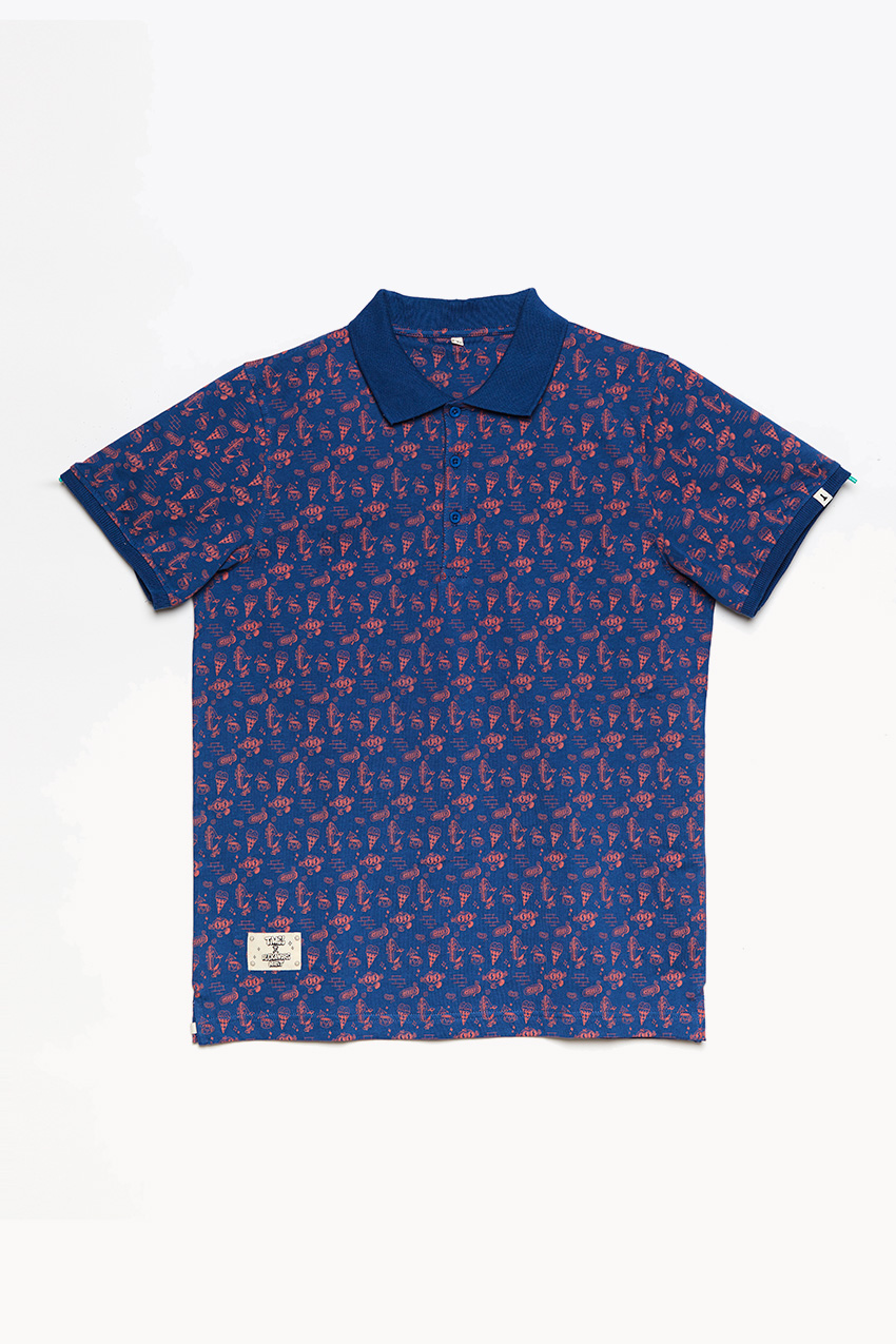 Ice Cup Poloshirt by Alexandre Nart 01