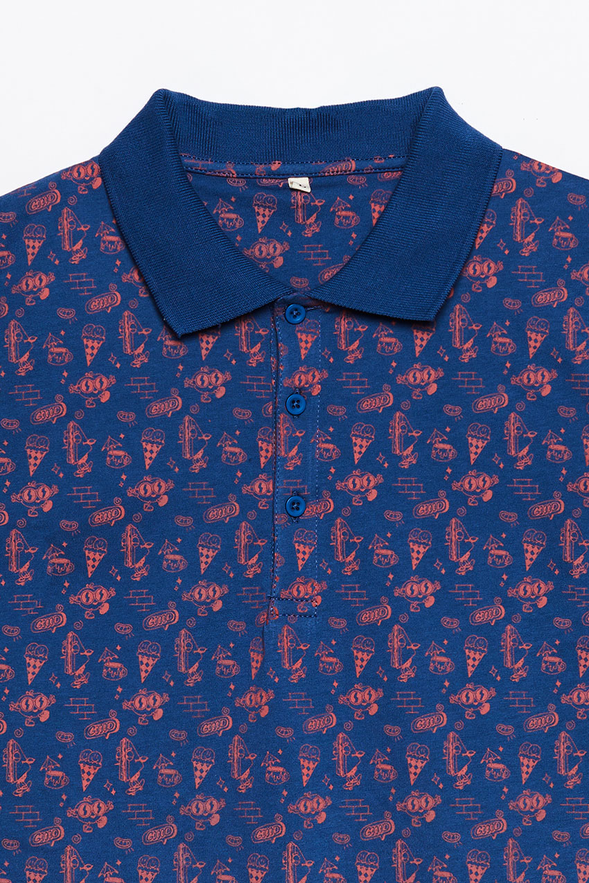 Ice Cup Poloshirt by Alexandre Nart 06