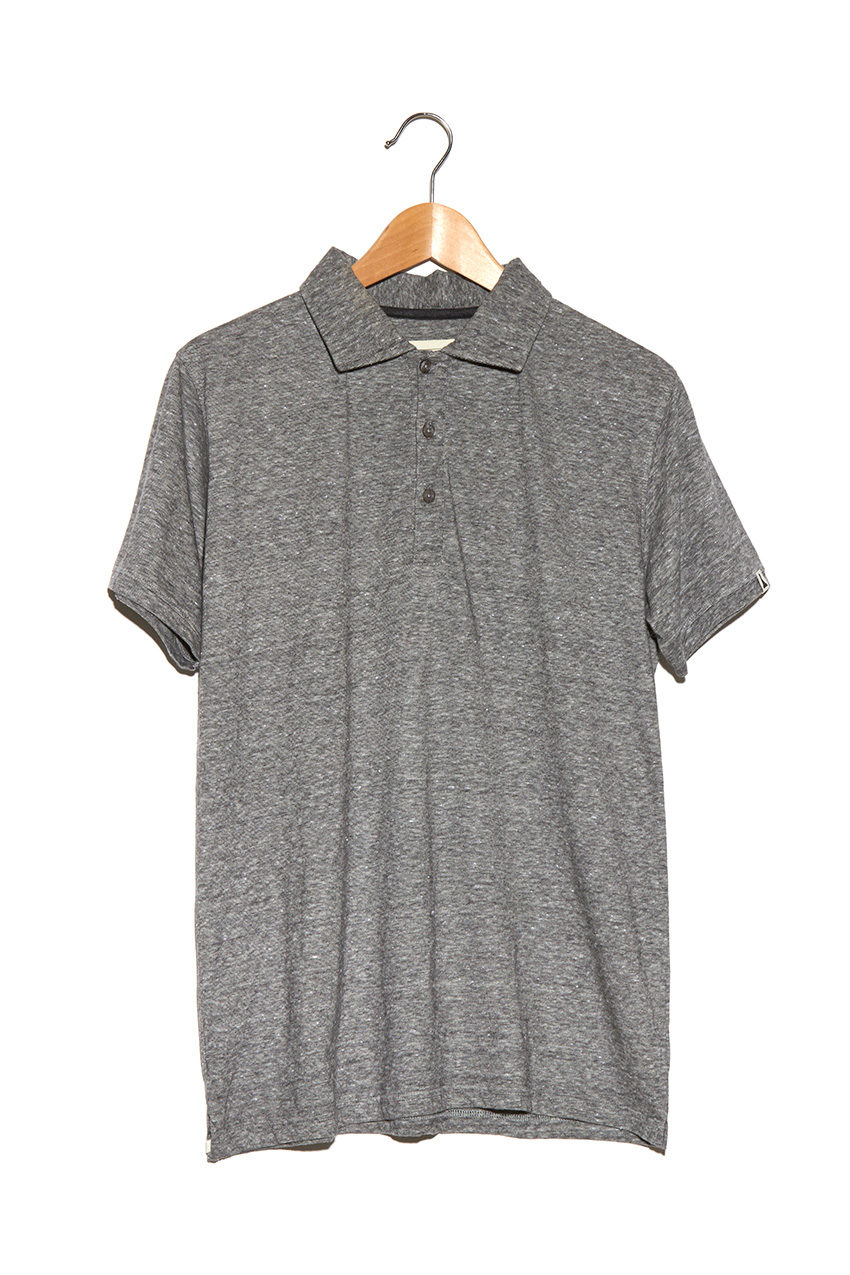 Polo Kot Grey Melange
