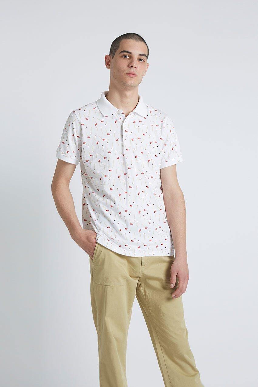 Stick Poloshirt Tiwel Snow White 02
