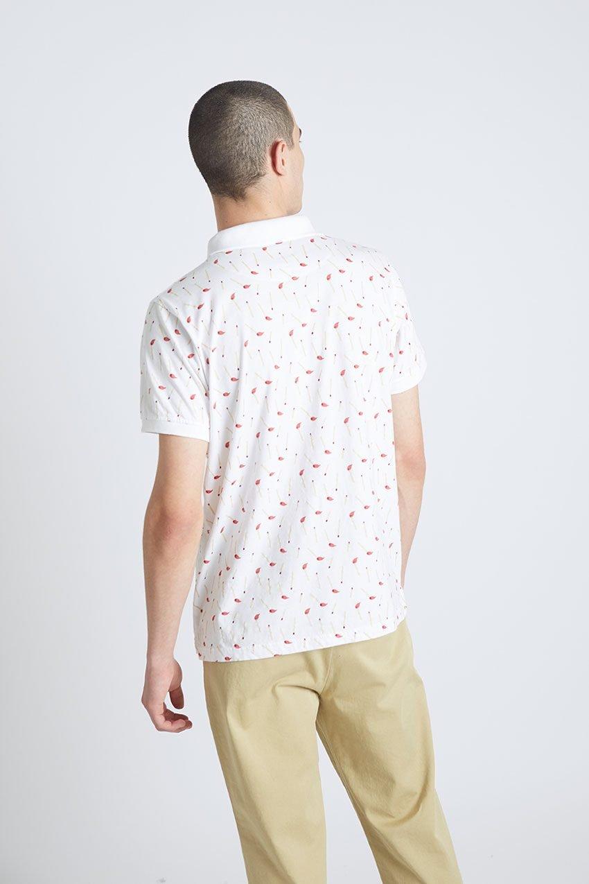 Stick Poloshirt Tiwel Snow White 07