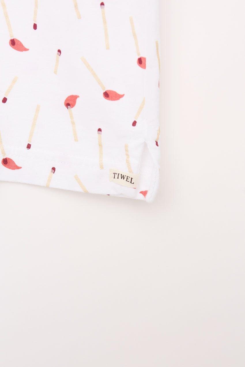 Stick Poloshirt Tiwel Snow White 11