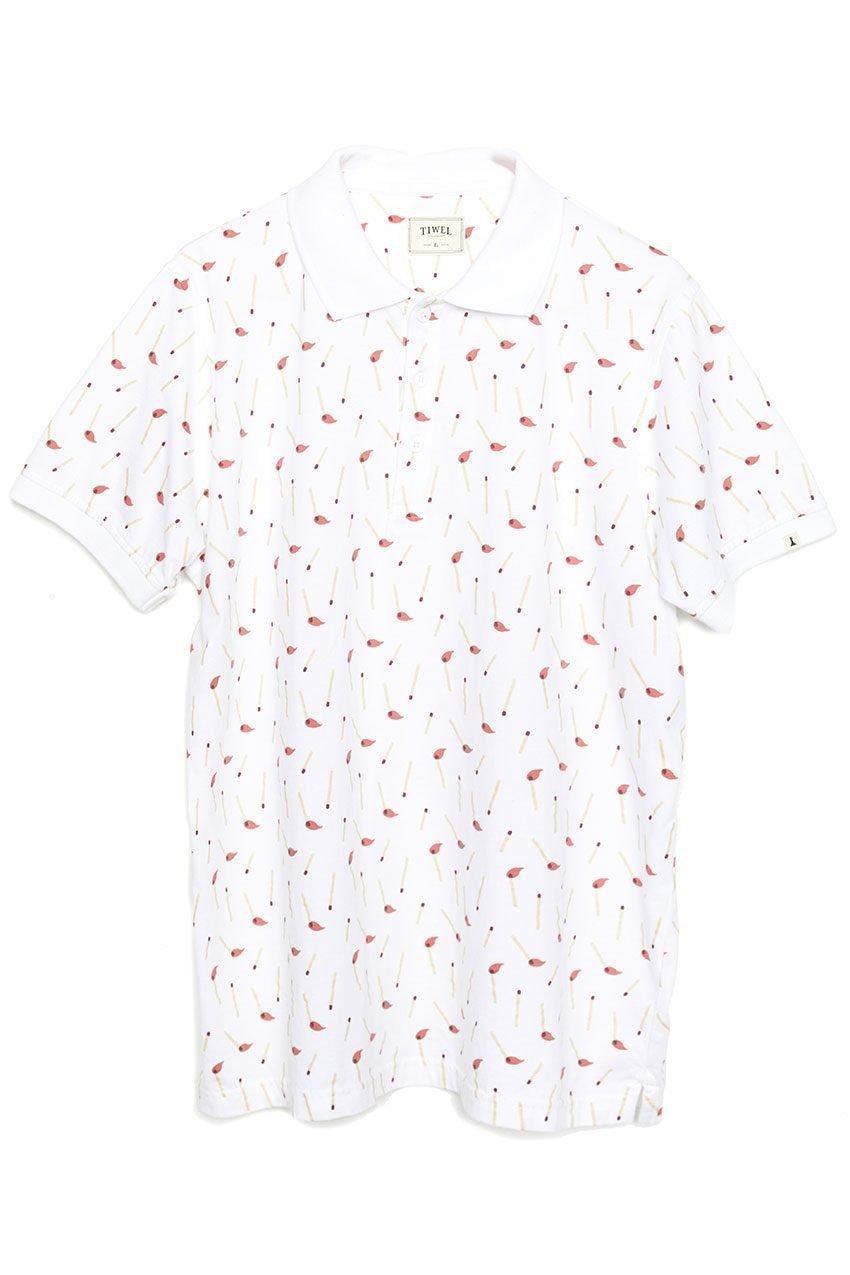 Stick Poloshirt Tiwel Snow White