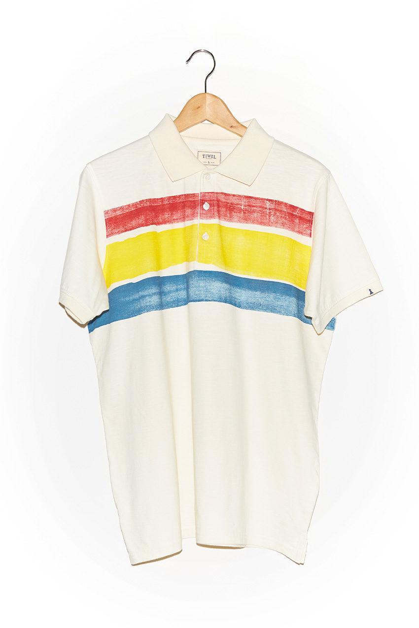 Polo Strip Off White