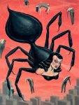 Ryan Heshka Tiwel Spider