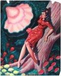 Ryan Heshka Tiwel floral